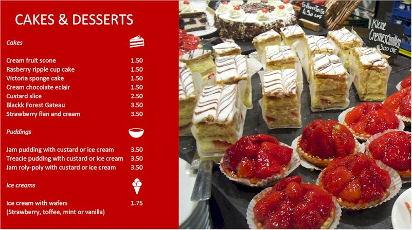 Repeat Signage software for bakeries