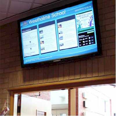 School digital infoboard
