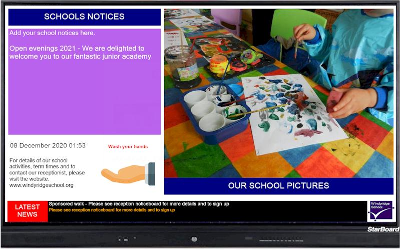 Repeat Digital Signage for primary schools