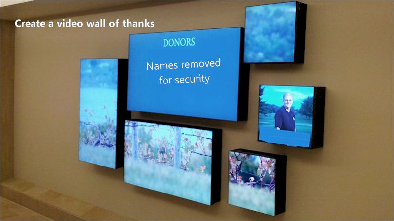 Repeat Signage creates US hospital wall of thanks