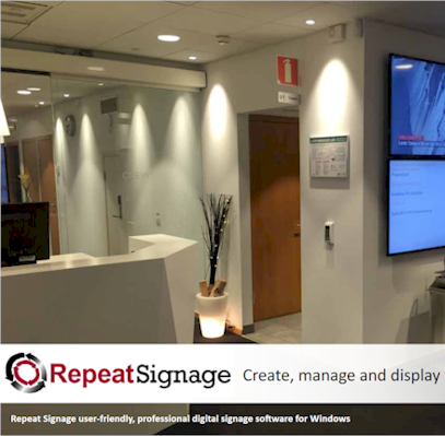 Repeat Digital signage solutions