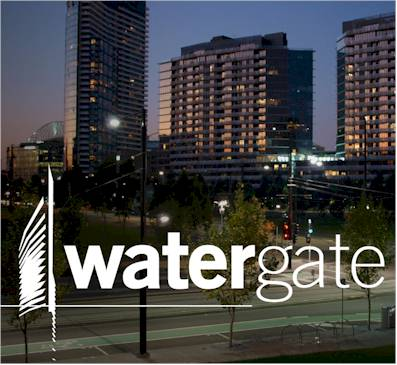 Repeat Signage at Watergate Apartments